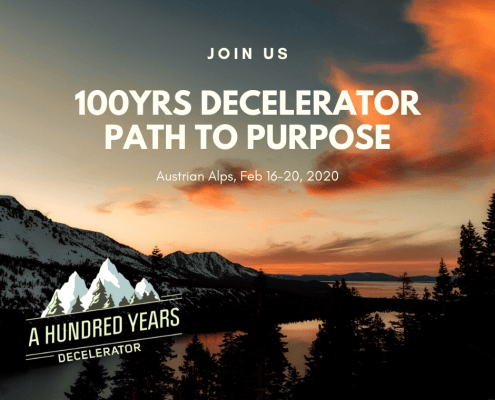 Decelerator - path to purpose