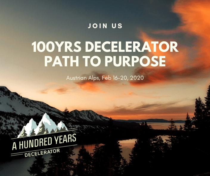 Decelerator - path to purpose
